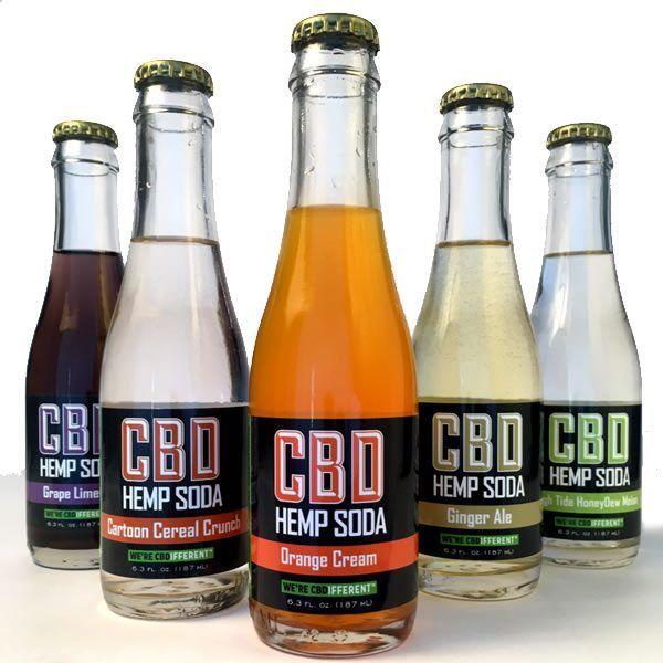 Nostalgic Hemp Sodas