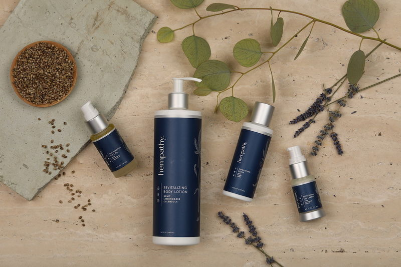 Vitamin-Rich Hemp Skincare