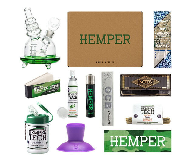 Curated Cannabis Subscription Services