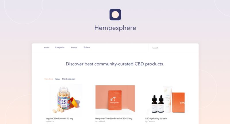 Curated CBD Product Platforms
