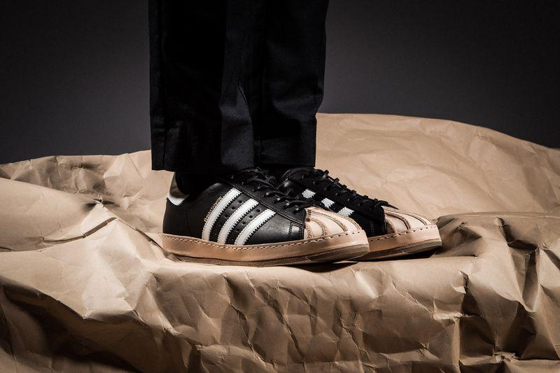 0b8a0d268e6c Monochromatic Reworked Sneakers   Hender Scheme x adidas