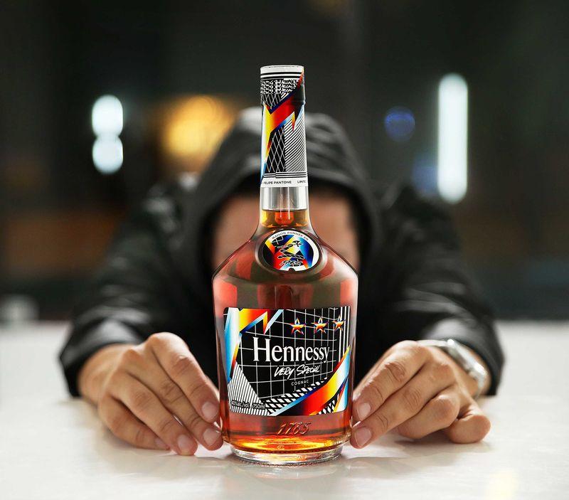 Artist-Created Cognac Bottles