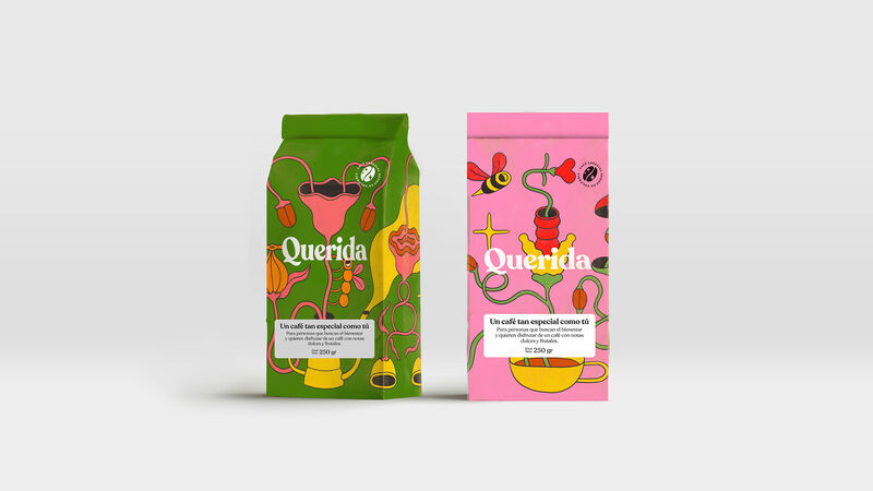 Psychedelic Coffee Branding