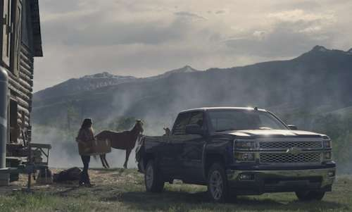 Strong Female Truck Campaigns