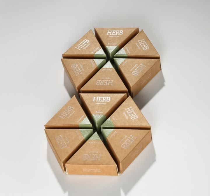 Prismatic Herb Packaging