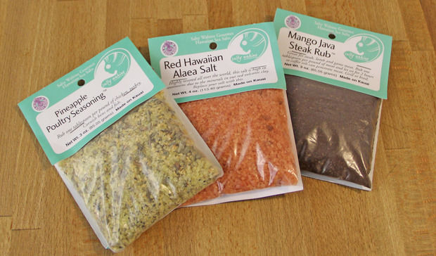 Herbed Hawaiian Salts