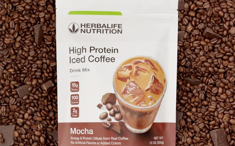 Caffeinated Protein Coffee Drinks