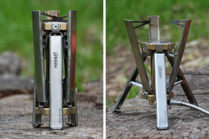 Collapsible Tripod Camping Stoves