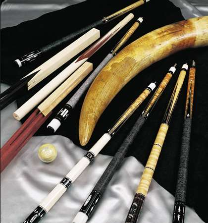 Richard Black Custom Pool Cue Stick For Sale |Custom Pool Cues