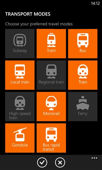 Public Transit Travel Apps