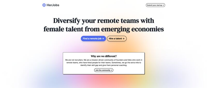 Female-Centric Job Platforms