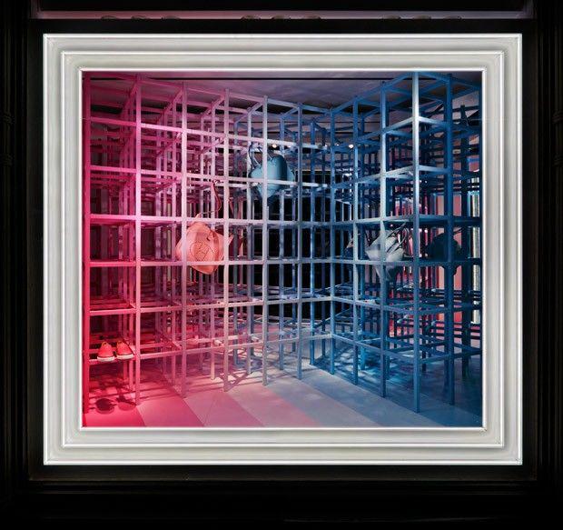 Op Art Window Displays