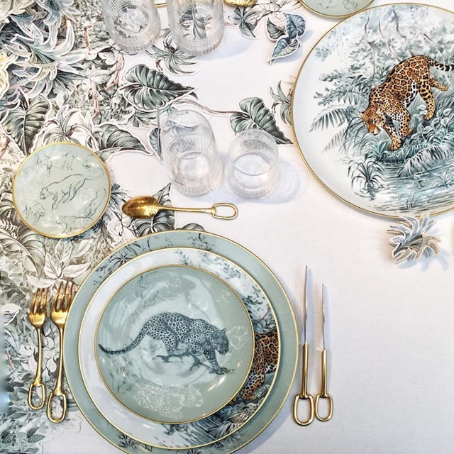 Jungle-Themed Dishware Collections
