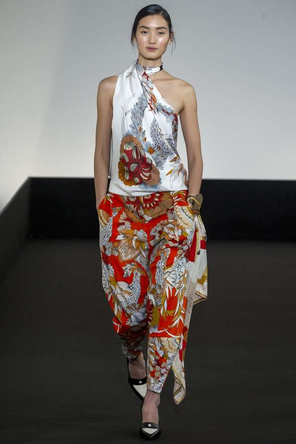 Pattern-Clashing Couture