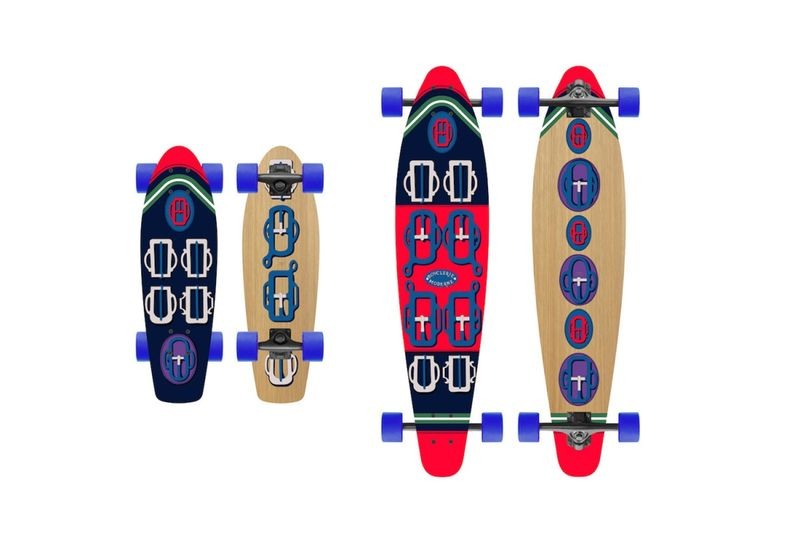 Fashion House-Designed Skateboards