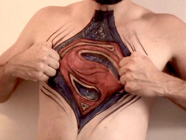 Heroic Body Paintings