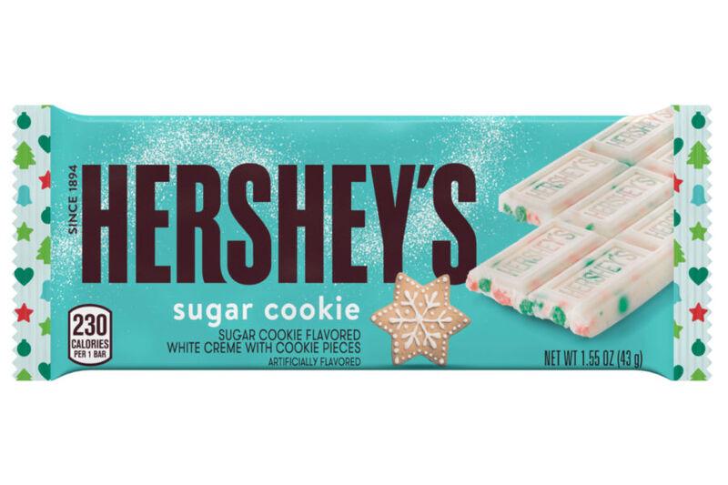 Sugar Cookie Chocolate Bars