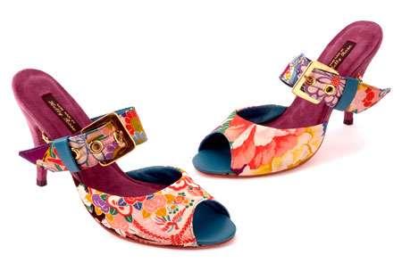Flowery Kimono Kicks