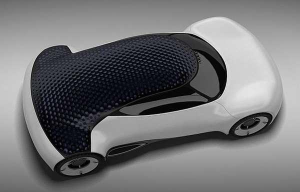 Dimpled Solar Cruisers Hexa Concept Car