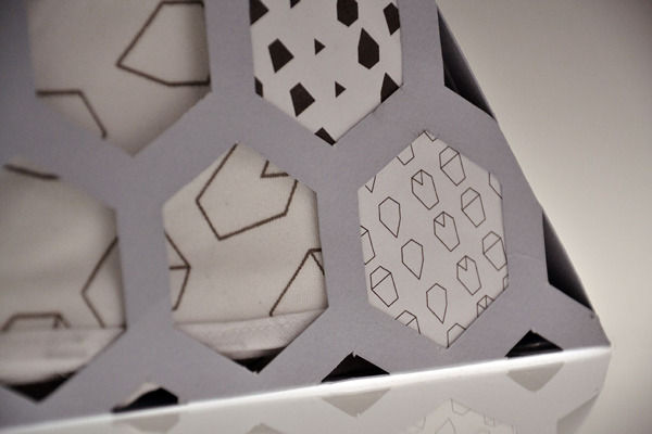 Geometric Serviette Containers