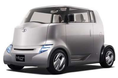 Toyota Unveil Latest Concept Car