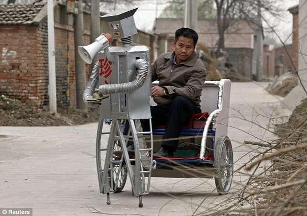 Hi-Tech Rickshaws
