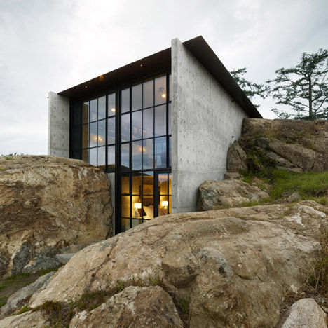 Camouflaged Concrete Abodes
