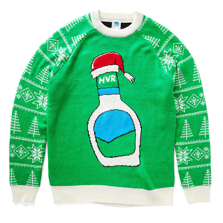 Condiment-Themed Holiday Sweaters