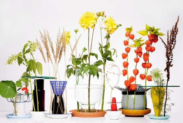 Clandestine Flower Holders