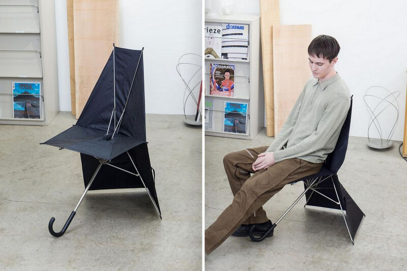 Umbrella-Shaped Folding Seats