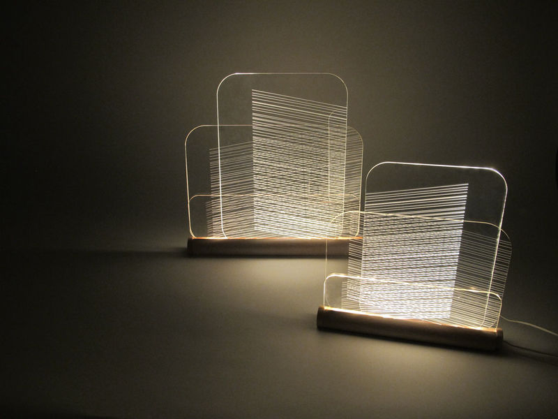Sculptural Abstract Lighting