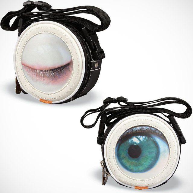 Bizarre Blinking Bags