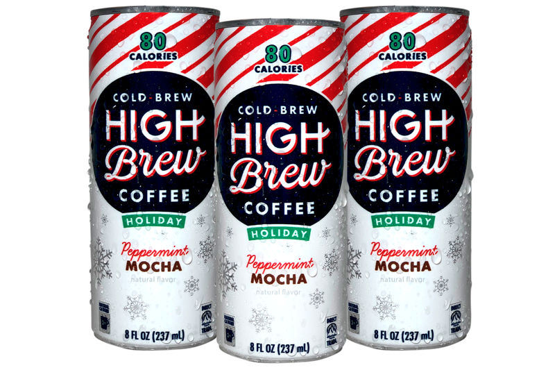 Festive Canned Cold Brews