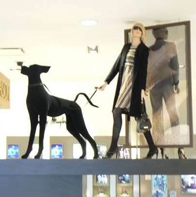 High Fashion Dog Mannequins