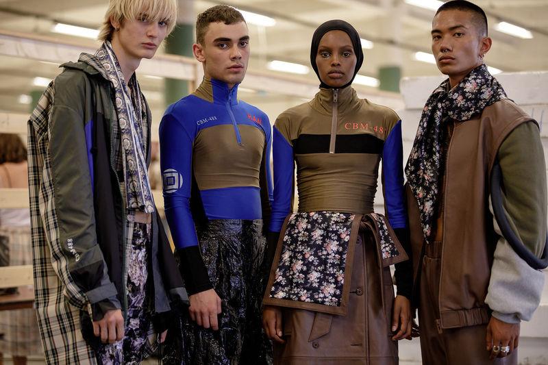 Multi-Patterned High Fashion Photoshoots