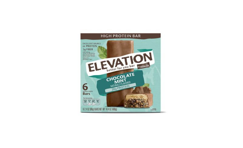 Minty High-Protein Bars