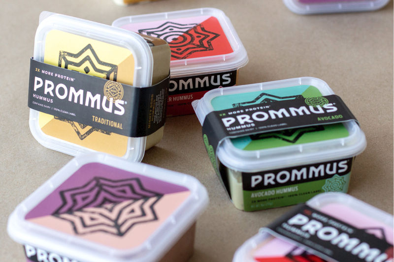 High-Protein Hummus Spreads