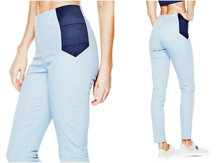 Legs-Moisturizing Jeans