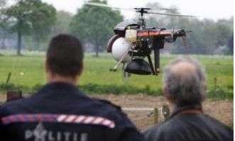 Aerial Drug Sniffing