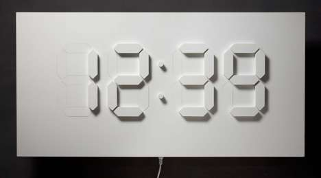 Bas Relief Clocks