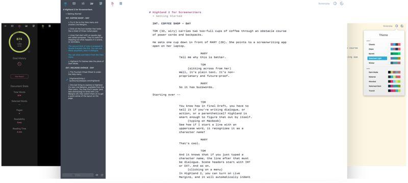 Smart Modern Screenwriting Apps