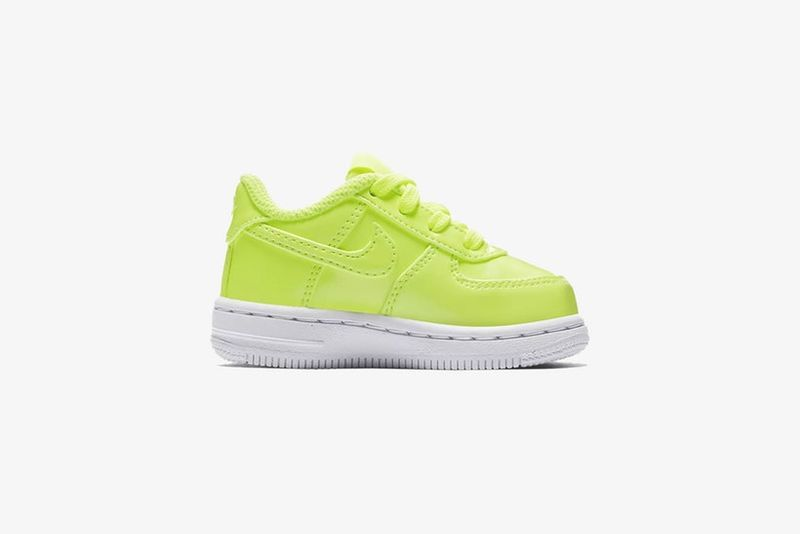 Highlighter-Hued Baby Sneakers