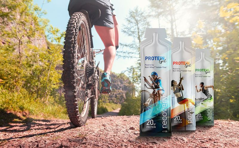 High-Protein Low-Dose Sports Gels