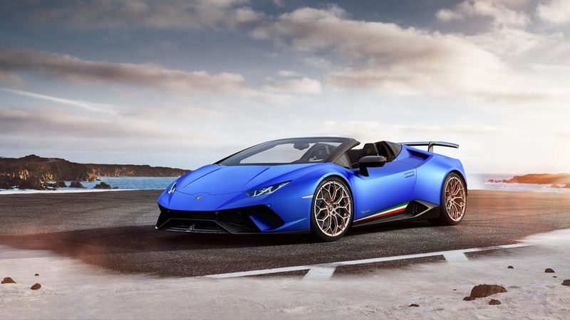 High-Speed Convertible Supercars