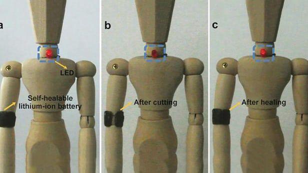 Self-Healing Batteries