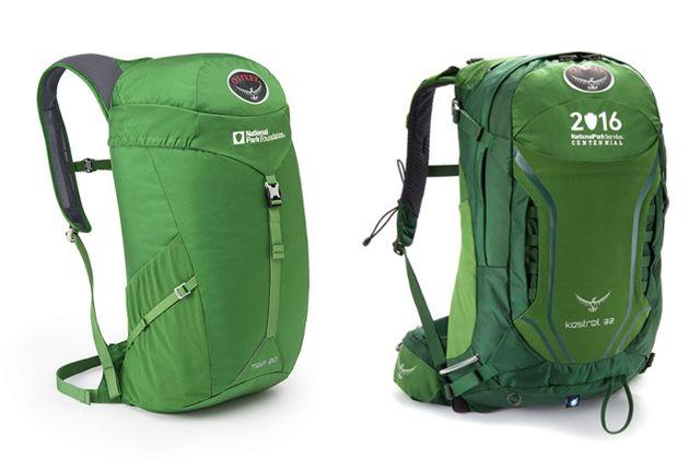 Park-Benefiting Backpacks : hiking bag