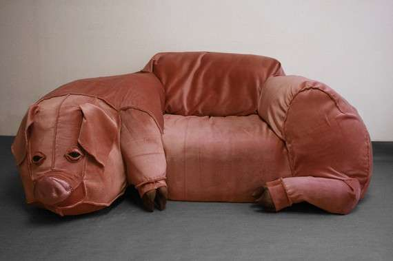 Swine-Like Sofas