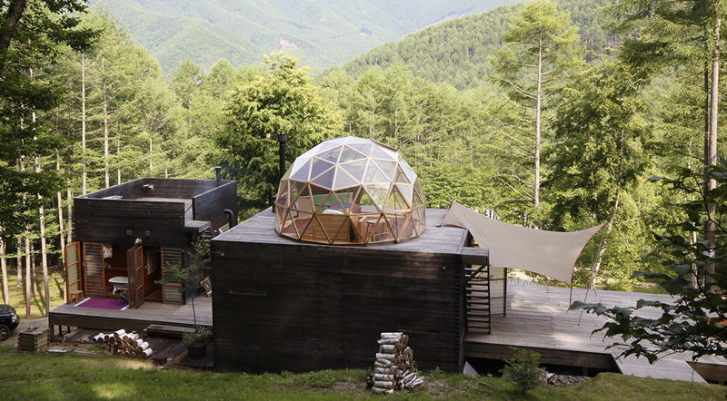 Geometric Mountain Retreats