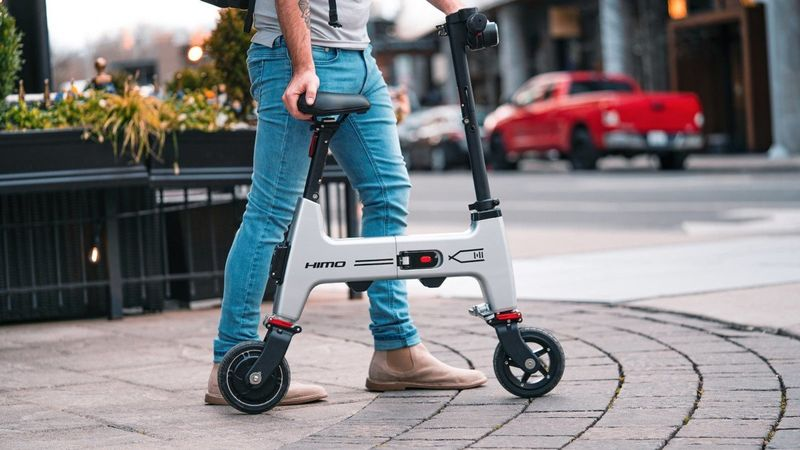 Collapsible Lightweight Electric Bikes