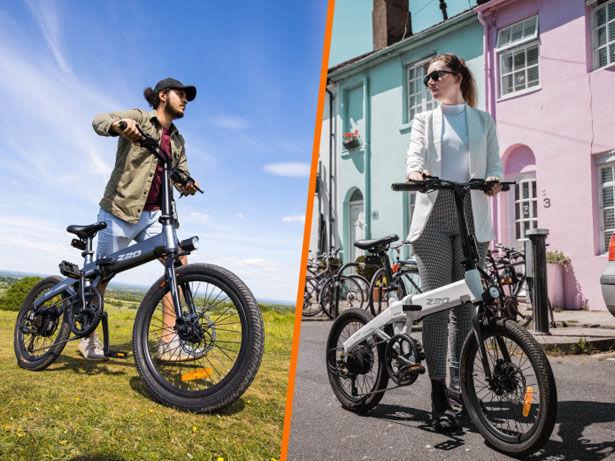 Folding Dual-Mode Electric Bikes